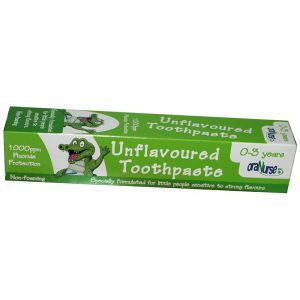 oraNurse Unflavoured Toothpaste - 0 - 3 Years (50ml)