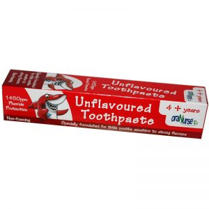 oraNurse Unflavoured Toothpaste - 4 + Years (50ml)