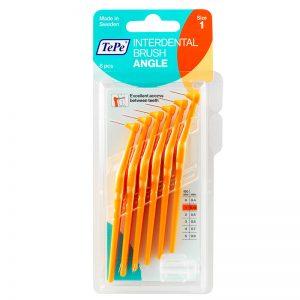 TePe Angle - Orange XXX Fine (Pack of 6)