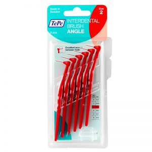 TePe Angle - Red XX Fine (Pack of 6)