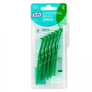 TePe Angle - Green Medium (Pack of 6)