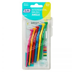 TePe Angle - Assorted (Pack of 6)