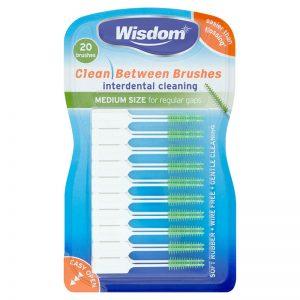 Wisdom Clean Between Interdental Brushes: Medium - Green (20)