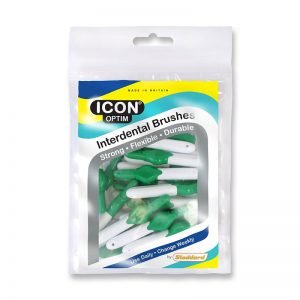 Icon Optim Interdental Brushes: Original - Size 5 - 0.8mm - Green (Pack of 25)