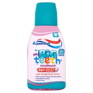 Aquafresh Big Teeth Mouthwash (300ml)