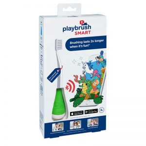 Playbrush Smart: Bluetooth Toothbrush Attachment - Green