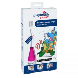 Playbrush Smart: Bluetooth Toothbrush Attachment - Pink