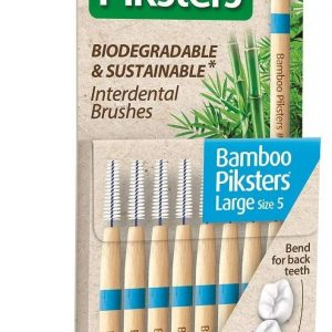 Bamboo Piksters Interdental - Blue 5 (Pack of 8)