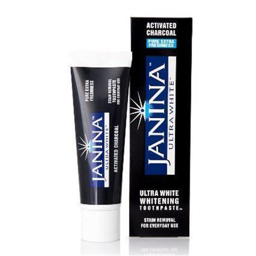 Janina Ultrawhite Activated Charcoal Toothpaste (75ml)