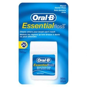 Oral B Essential Floss - Mint Waxed (50m)