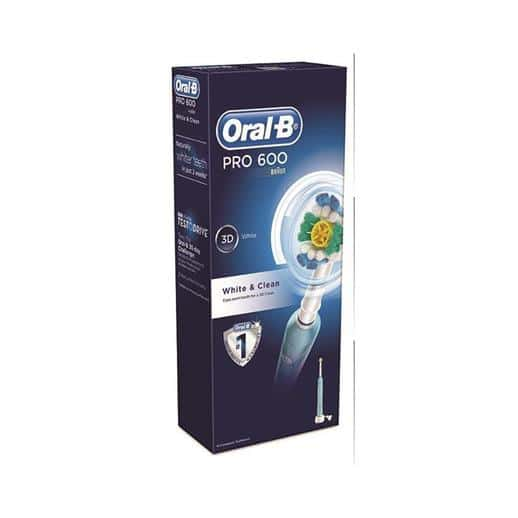 Oral B Pro 600 3D White + Clean Toothbrush