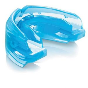Shock Doctor Double Braces Blue Mouthguard