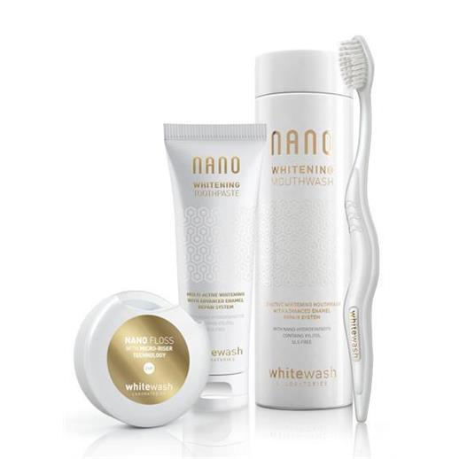 Whitewash Luxury Nano Gift Box with Floss